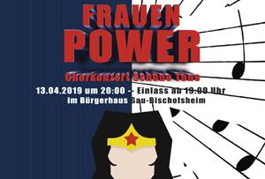 """""""Frauen Power"""" Chorkonzert Schöne Töne"""